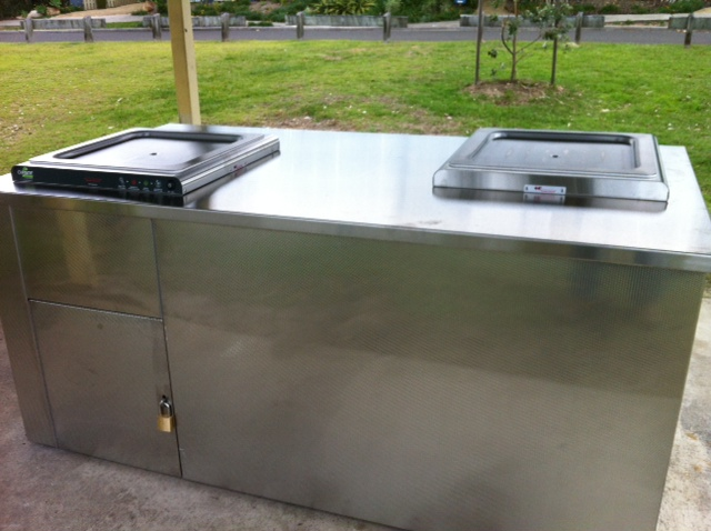 commercial stainless steel bbq